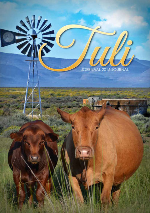 Tuli Cattle 2016 Journal