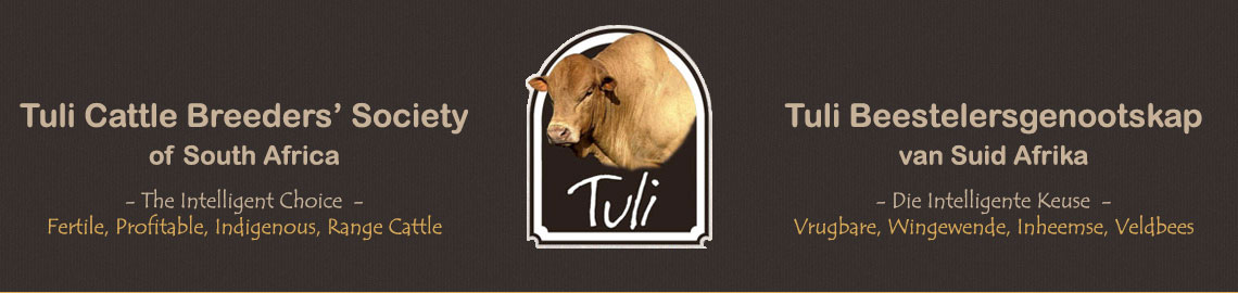 Tuli Cattle Breeders' Society of South Africa Journals
